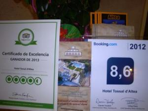 Comparativa Tripadvisor Booking
